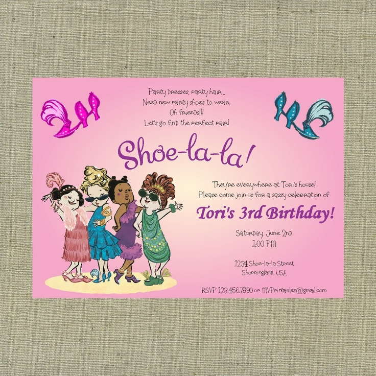 24 best Shoe-La-La Party images on Pinterest | Ideas para fiestas ...