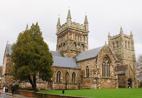 Wimborne Minster is our closest town at Merley House