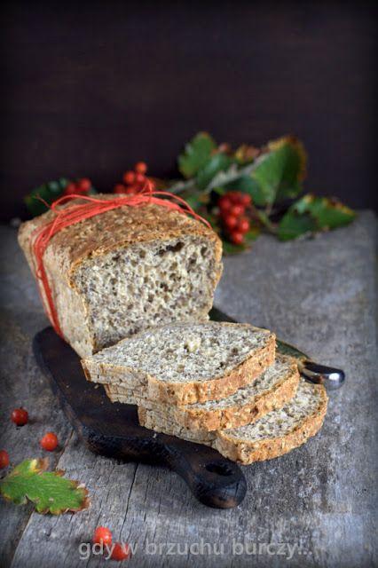 Chleb na drożdżach z siemieniem lnianym
