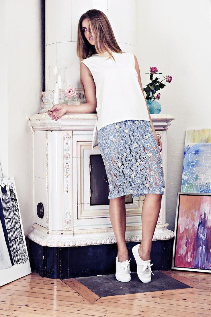 Lookbook SS15 Viktoria Chan fashion label, Scandinavian fashion