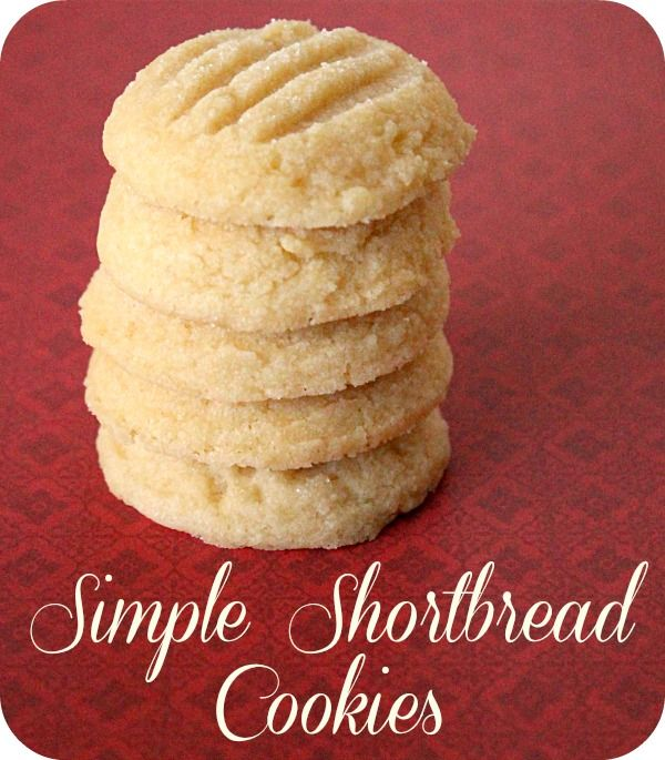 Simple Shortbread Cookies--Vegan version of the shortbread recipe in the Southern Living Big Book of Christmas Baking.
