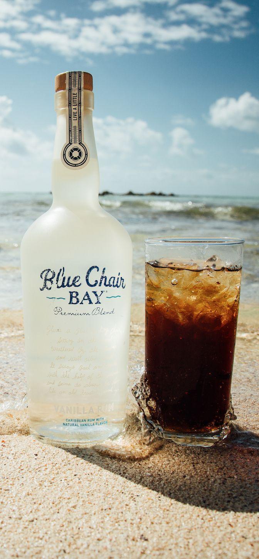 BARREL ROLL COCKTAIL RECIPE // 1.5 Oz. Blue Chair Bay Vanilla Rum + Root