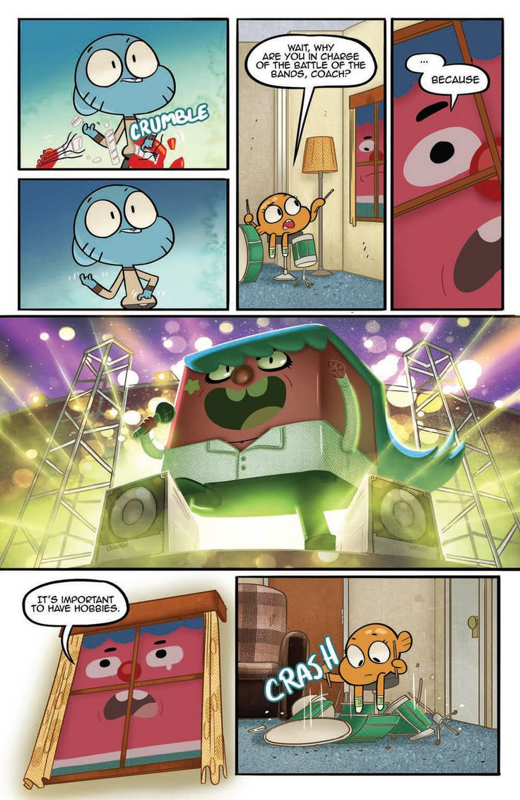 Preview The Amazing World Of Gumball Vol 2 Tp, Story -3158