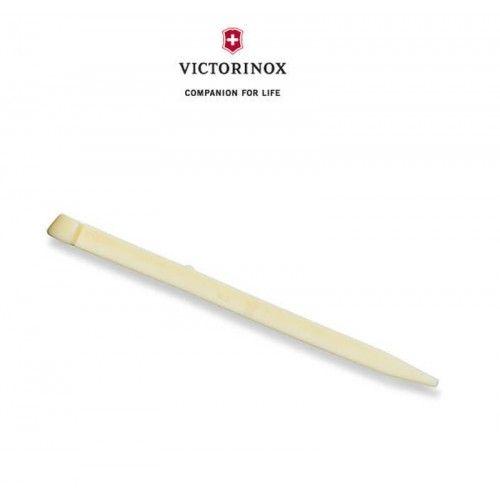 Original Victorinox Tandstikker er til små Victorinox lommeknive. Altid rart at have et par ekstra liggende, så man kan udskifte den indbyggede tandstikker i lommekniven, når den trænger til det. Kig forbi www.nyttigbras.dk
