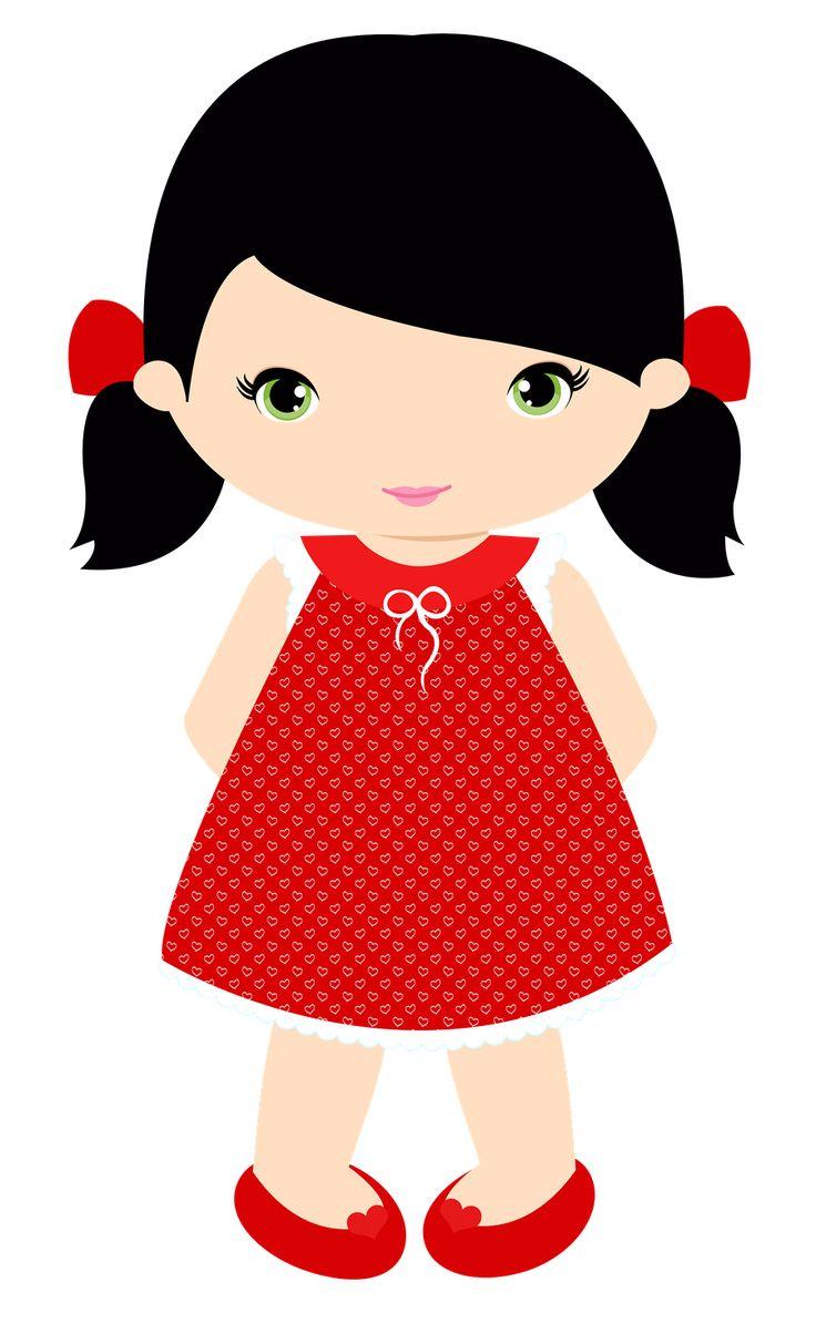 clipart little girl face - photo #33