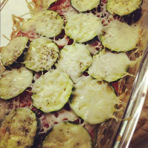 Italiaanse groenteschotel