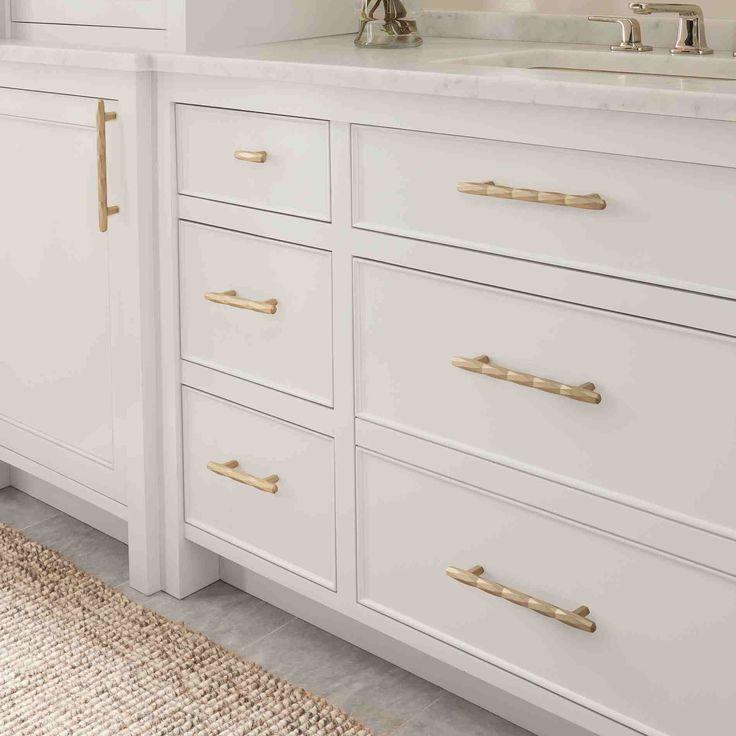 25+ White bathroom cabinet pulls diy