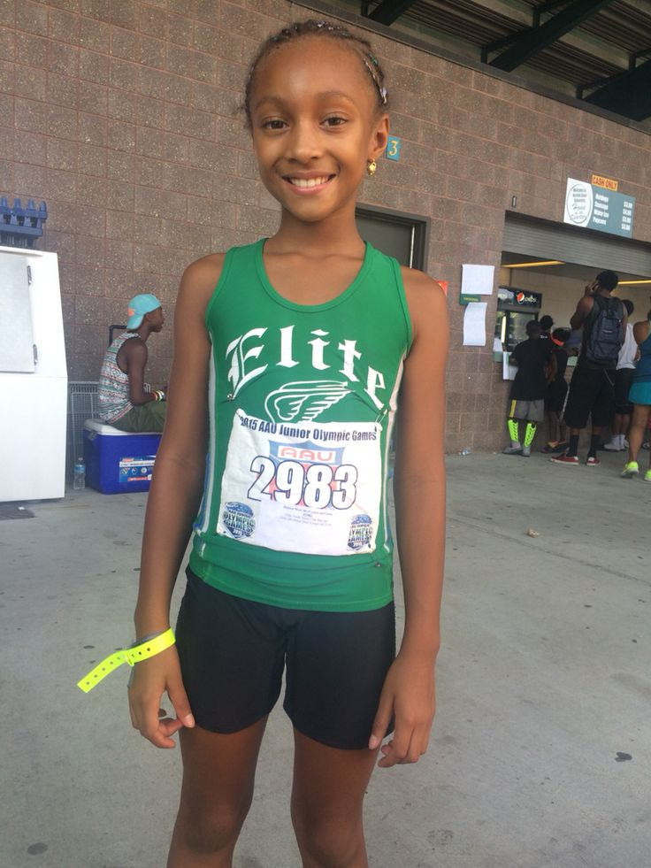 Dakota at 2015 AAU Junior Olympics