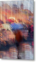 ...Waiting on you by Svetlana Iso.     Abstract background of girl under umbrella in the city street in rain. Light illumination from lanterns and shop windows. Impressionism style. Intentional motion blur. Concept of seasons, weather, love, dreams, modern city.  #SvetlanaIso#SvetlanaIsoFineArtPhotography #Photography#ArtForHome #InteriorDesign #FineArtPrints #Home #Gift #Color #Rain #Girl #Love #Dreams