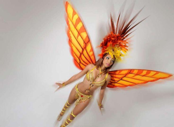 Ali farfalla fai da te per Carnevale - Ali di Carnevale