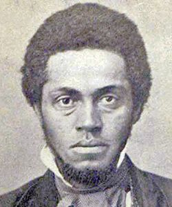 Osborne Perry Anderson was one of the five African American men to accompany John Brown in the raid on the Federal Arsenal at Harpers Ferry, Virginia (now West Virginia) in October 1859. More Info by clicking on the picture.