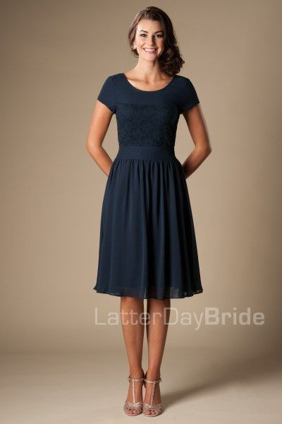 17 Best ideas about Modest Bridesmaid Dresses on Pinterest | Lace ...