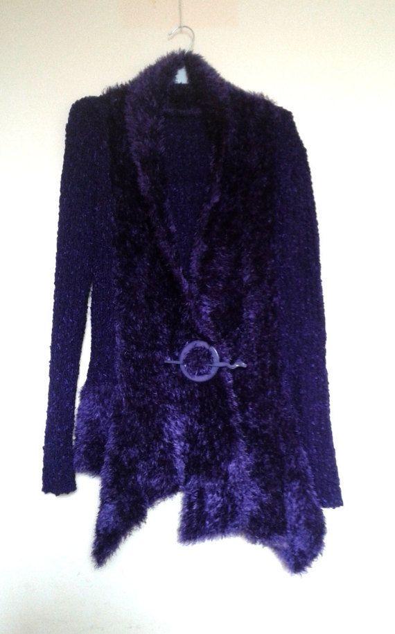 Purple Blazer Long Sleeve JacketPurple by VintageBrandNew on Etsy