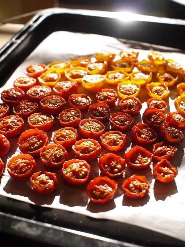 オーブンで♡自家製セミドライトマト by 宮沢史絵 / レシピサイト「Nadia | ナディア」プロの料理を無料で検索
