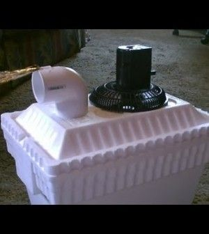 You'll Be Incredibly Surprised At How Cool This DIY Poor Mans Air Conditioner Will Keep Your Car, Camper, Tent, Or Room. Step By Step Instructions And Proof That It Works!