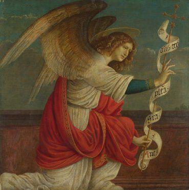 Gaudenzio Ferrari, the Angel Gabriel, before 1511