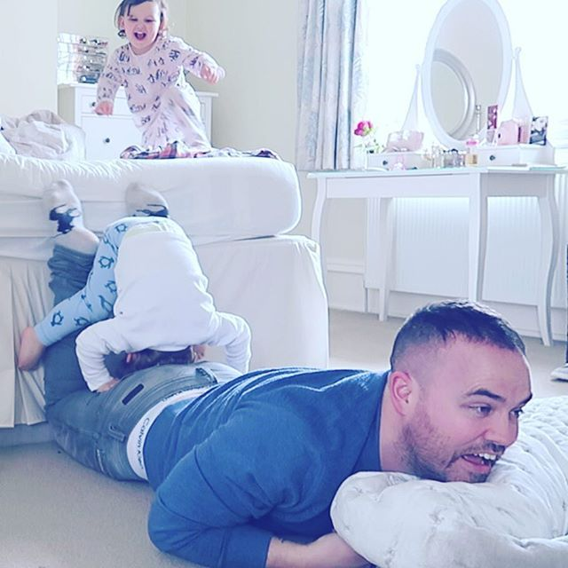 Instagram media by jonathanjoly - Just a regular day at the #sacconejolys house