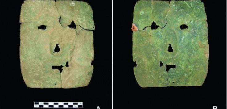 Argentina 3000 year old mask (Arjantinde 3000 yıllık masek)
