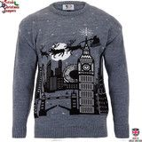 Christmas in London - Mens Christmas Jumper | British Christmas Jumpers