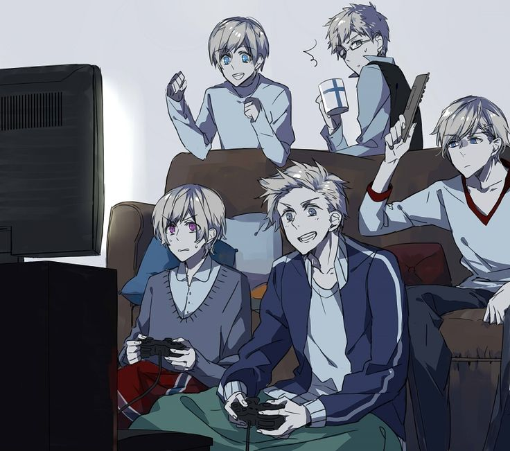 Tags: Axis Powers: Hetalia, Denmark, Sweden, Finland, Norway, Iceland, Nordic Countries, Pixiv Id 6352321