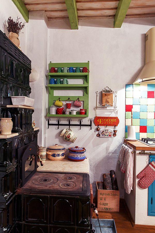 Romanian Traditional House/ Rustic kitchen/ casa traditionala romaneasca/ styling Sanziana Pop, Foto Catalin Georgescu