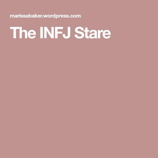 The INFJ death Stare.. infj. c'est moi. mcr