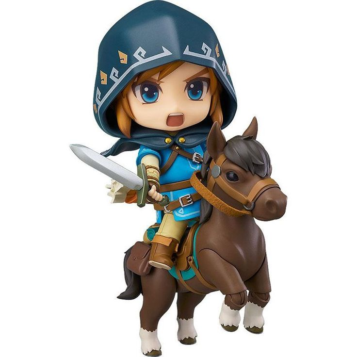 Action Figure Nendoroid Figura Zelda Link Breath Of The Wild  DX Edição Deluxe Versão Action Figure