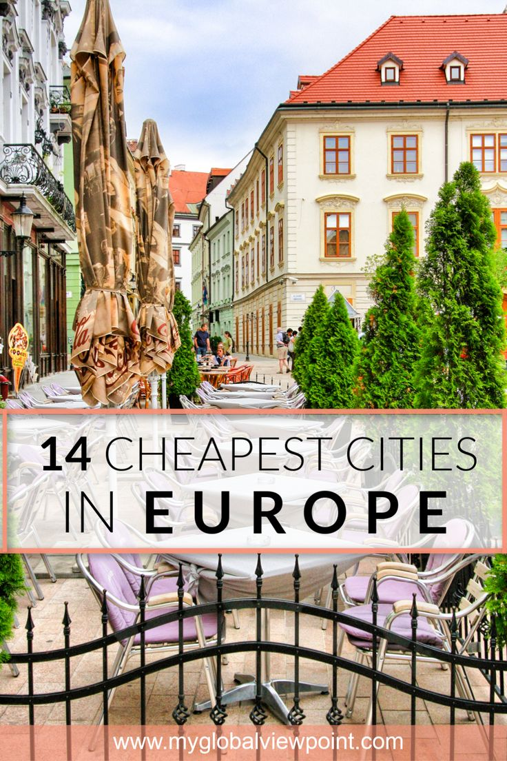 Cheapest European Cities to Visit in 2019
