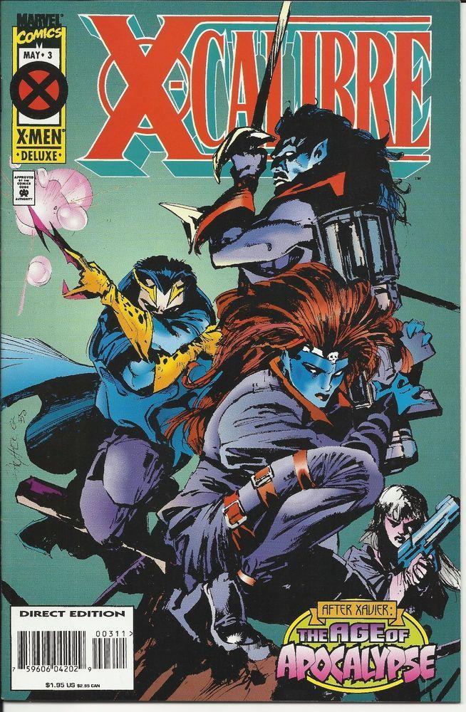 XCalibre The Age of Apocalypse Marvel Comics Xmen Deluxe Vol 1, No 3, May 1995