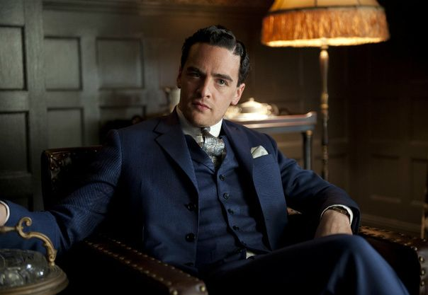 navy suit (lucky luciano - boardwalk empire)