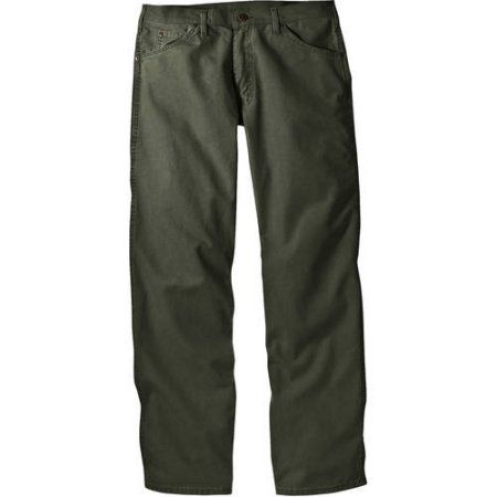 Genuine Dickies Men's Relaxed-Fit Dungaree Jeans, Green