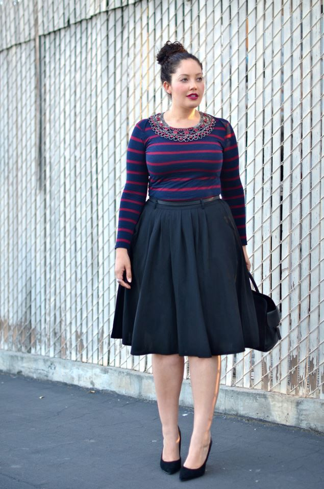 look-tallas-grandes-falda