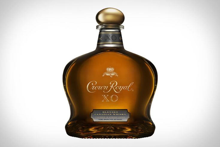 CROWN ROYAL XO WHISKEY If you're a bourbon drinker there is a chance you think Canadian Whiskey is a lesser spirit. If that's true, the latest offering from Crown Royal might change your mind. XO is a premium offering from Crown, and is a unique blend of more than 50 of the best from the CR family. It's finished in cognac casks from the French Limousin Forest, adding some complex sweetness. If you normally overlook Canadian whiskey, don't pass up this excellent blend.