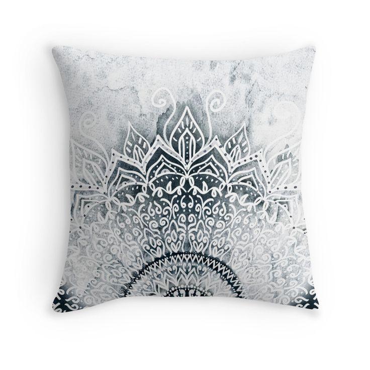 MINA MANDALA | Throw Pillow | Mandala throw and Throw pillows