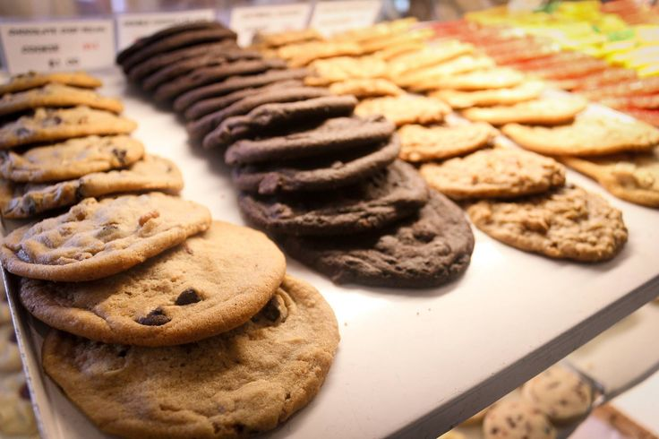 Who can resist a cookie fresh from the bakery? What is your favorite? #YYCEats #YYCFood 17th Ave SW