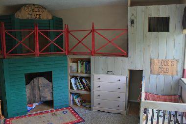 Western Kid's Bedroom
