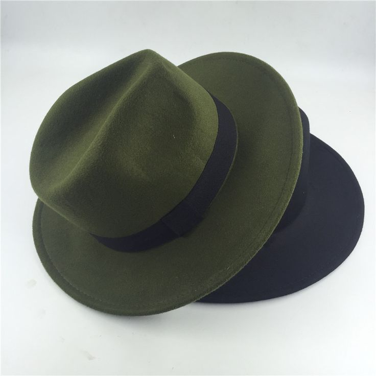 2017 Fashion Fedora Hat For Women Men Vintage Jazz Hat chapeu homme panama Church women fall fedora top Hats green black pink