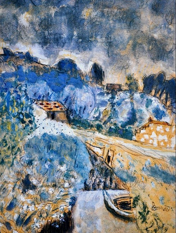 Pierre Bonnard. See The Virtual Artist gallery: www.theartistobjective.com/gallery/index.html