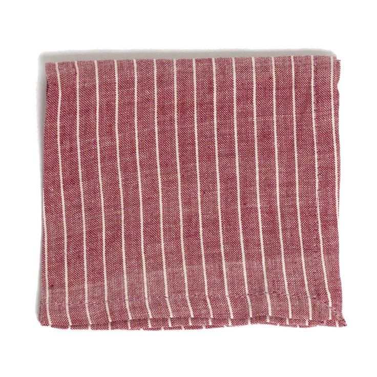 Striped Cocktail Napkin These striped hand-woven cotton cocktail napkins involve theinterlacing of a single color from the weft with multiple different thread colors from the warp.  | | Lip Service Napkins | | cheers to story telling, laugh-sharing & memory-making - Shop Retreat Napkins  Dinner Party | Wedding | Event | Vacation | Relax | Host | Planning | Table Setting | Entertaining