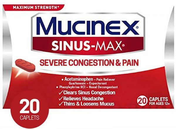 دواء ميوسينكس Mucinex مذيب البلغم ومهدئ للسعال How To Relieve Headaches How To Clear Sinuses Sinus Congestion