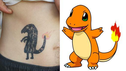 Le pire tatouage de Pokémon - 7SUR7.be