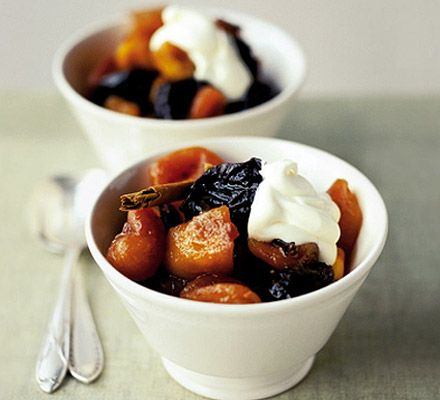 Two simple steps make a deliciously fruity pud