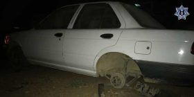 Recupera Policía Estatal dos vehículos con reporte de robo en San Martín Mexicapan