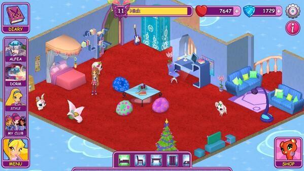 Winx Fairy School dorm by Nick