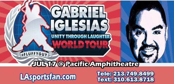 Gabriel Iglesias @ Pacific Amphitheatre 7/17 #tickets #GabrielIglesias #Fluffy #PacificAmphitheatre