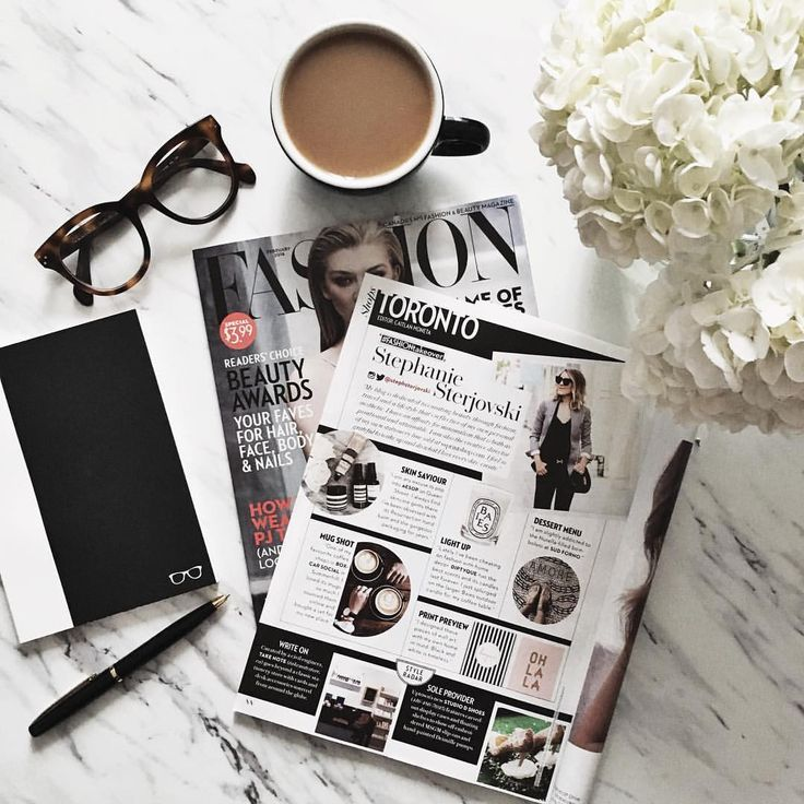 "Stephanie Sterjovski auf Instagram: ""Good morning indeed! Spotting myself in @fashioncanada magazine, thank you! ❤️"""