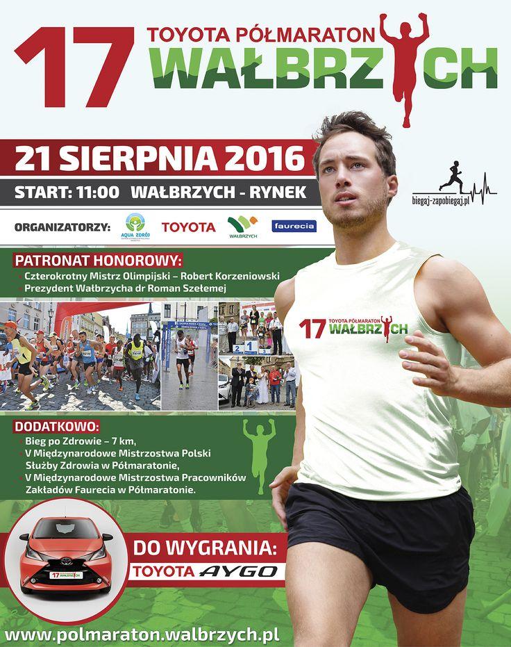 XVII Toyota Półmaraton Wałbrzych | AQUA ZDRÓJ Wałbrzych