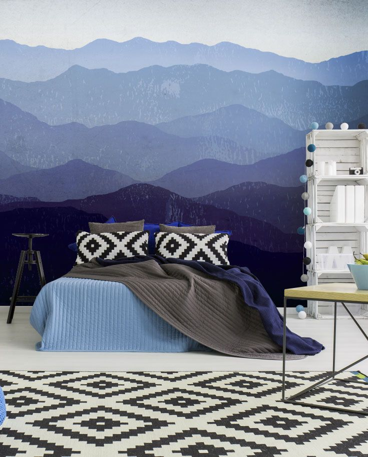 Purple Mountains Wall Mural Part 65