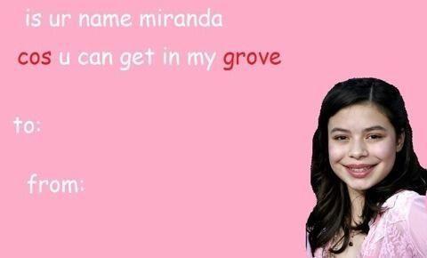 miranda cosgrove Valentines Day Cards Pinterest – Icarly Valentine Cards
