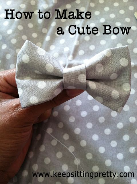 How to Make Cute Bow. A fun and easy DIY!